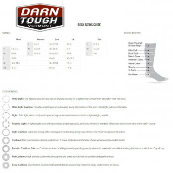 Darn Tough Damen 1794 Vertex - Micro Crew Ultra Light Run