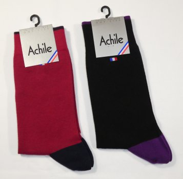 Achile Herrensocken Tricolore